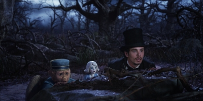 Oscar et ses compagnons Finley (Zach Braff) et China Girl (Joey King),