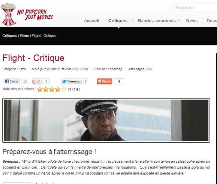 La critique NopopCorn