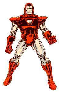 L'armure Silver Centurion dans les comics