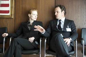 Maya (Jessica Chastain) & dan (Jason Clarke) tranquilles entre deux séances de waterboarding.