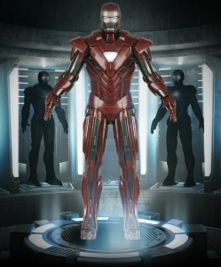 "MARK 33 | ENHANCED ENERGY SUIT | ""SILVER CENTURION"""