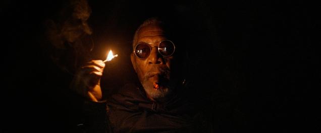 Salut Morphéu..euh je veux dire Beech (Morgan Freeman)