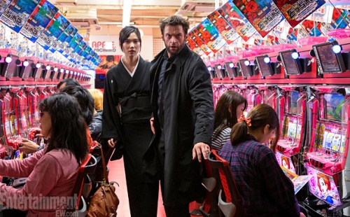 Tao Okamoto ( Mariko Yashida), Hugh Jackman ( Logan/Wolverine)