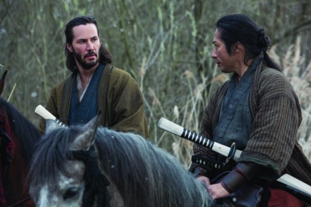 Kai (Keanu Reeves) et le héros du film Ôishi (Hiroyuki Sanada)
