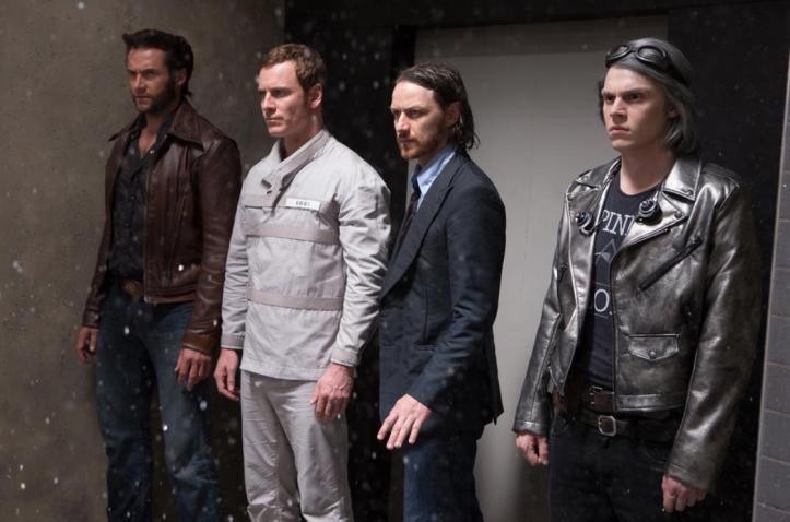 Wolverine (Hugh Jackman), Magneto (Michael Fassbender), Charles Xavier (James Mc Avoy) les 4 fantastiques ?