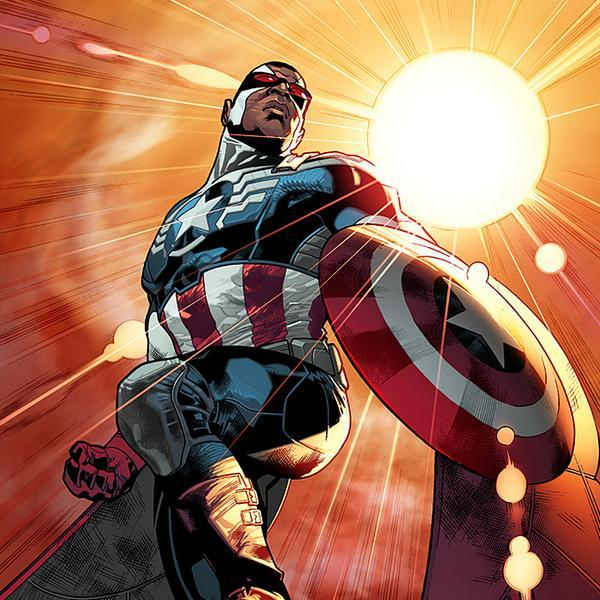 le nouveau Captain America - Sam Wilson