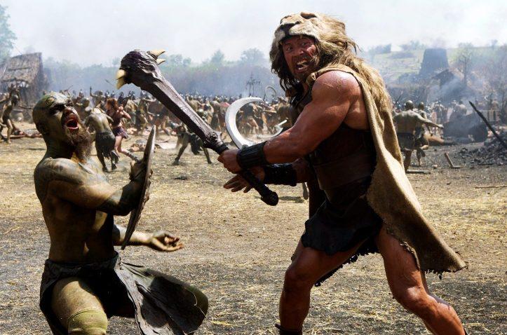 Hercule (Dwayne Johnson) Dans ..ta .. gueule!