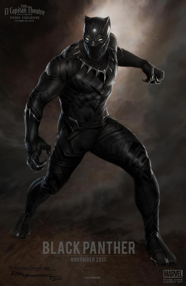 concept art pour Black Panther