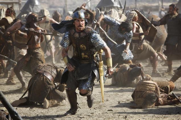 na, na, na, na, Moise! na, na, na, na, Moise (Christian Bale)