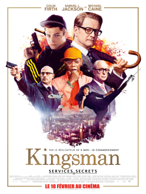 kingsman french poster