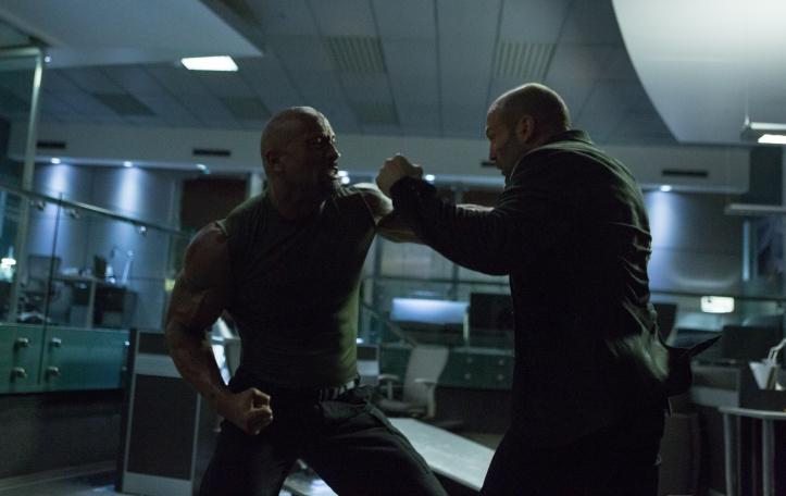 Luke Hobbs -Dwayne Johnson Vs Deckard Shaw -Jason Statham