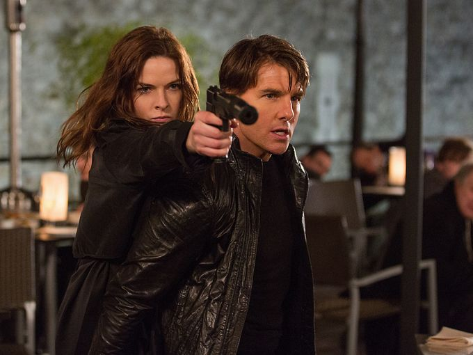 Rebecca Ferguson (Hercule)  rejoint la Force Mission Impossible (IMF)