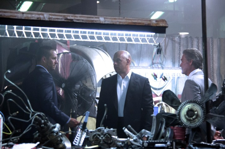 Furious 7 - Paul Walker Vin Diesel Kurt Russell