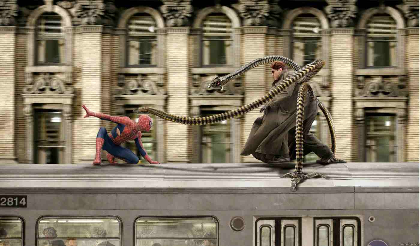 spider-man-2-train-fight