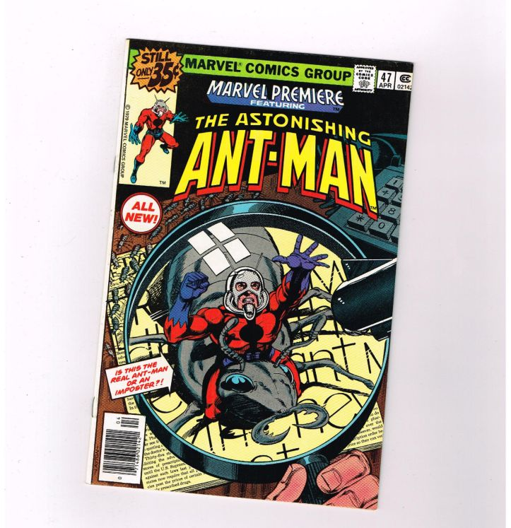 MARVEL-PREMIERE-47-First-New-Ant-Man-Great-Bronze-Age-Marvel-GRADE-80-301243607424