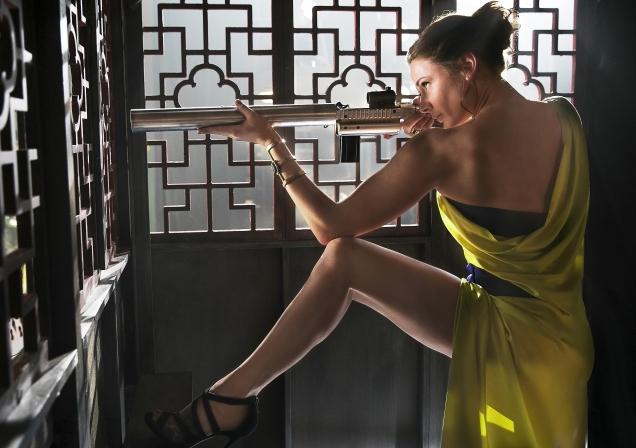 Ilsa Faust (Rebecca Ferguson) Fatale, vous avez dit fatale ?