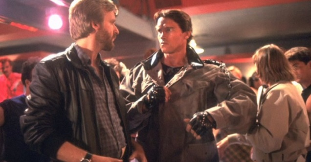 The-Terminator-James-Cameron-and-Arnold-Schwarzenegger