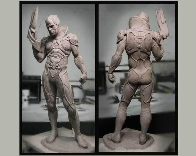 Maquette du design du méchant Ty-zor
