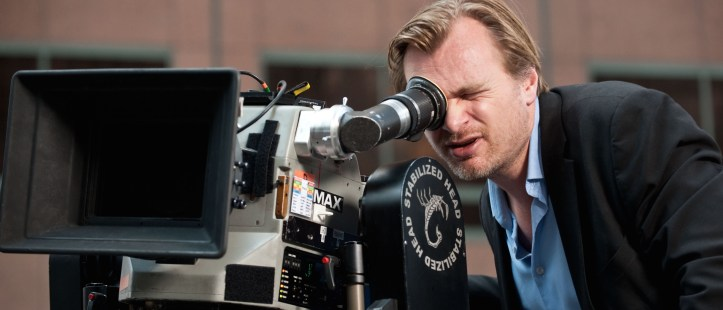 "DKR-27039 Director CHRISTOPHER NOLAN sets up a shot for Warner Bros. Pictures' and Legendary Pictures' action thriller ""THE DARK KNIGHT RISES,"" a Warner Bros. Pictures release. TM & © DC Comics."