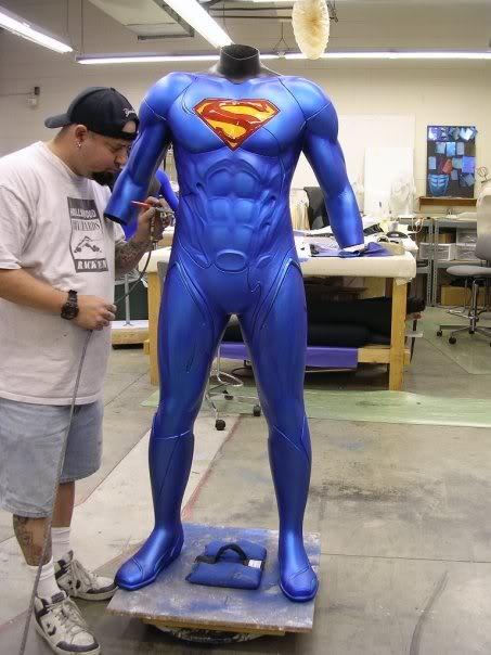 le prototype de costume réalisé pour Fly By