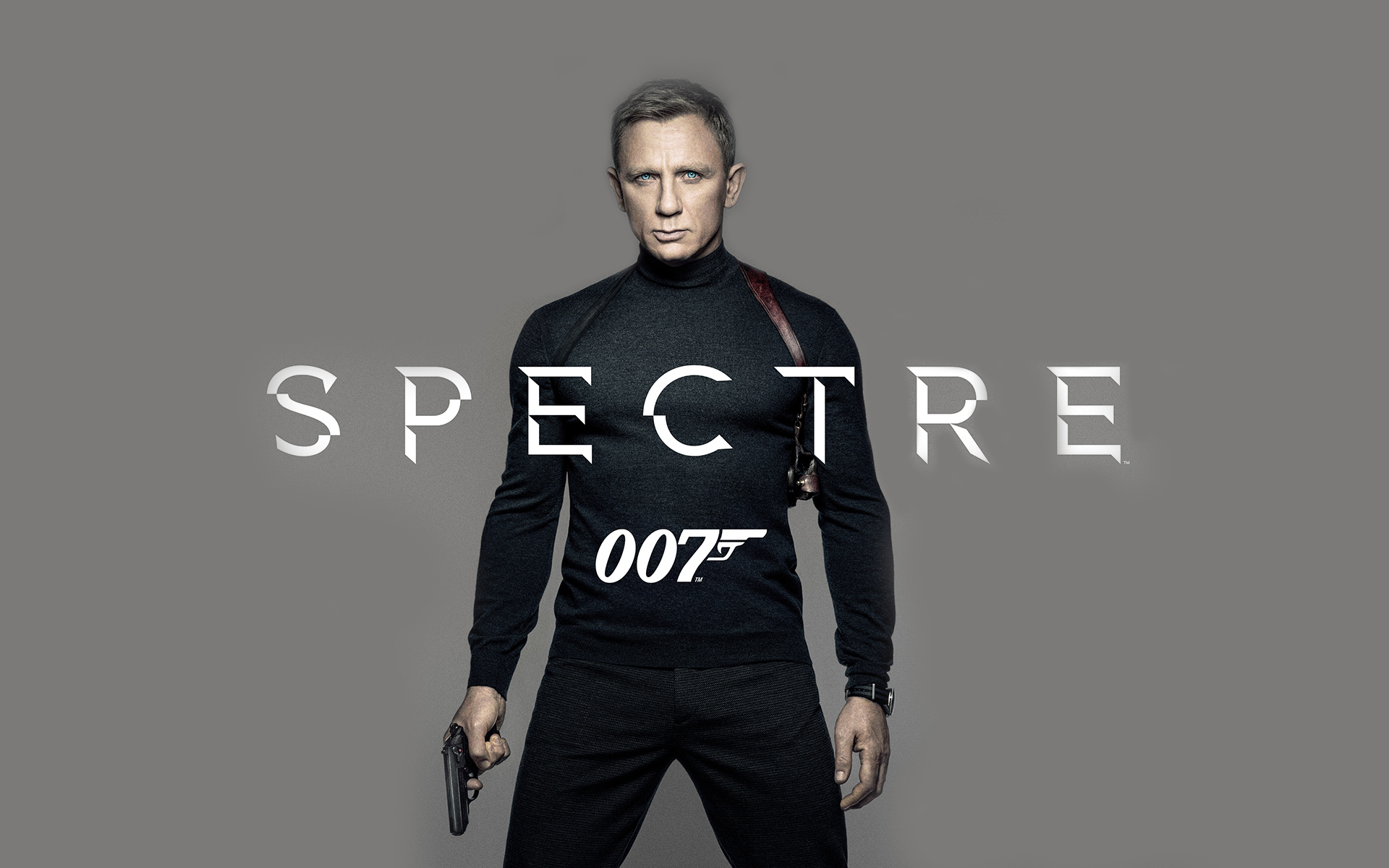 Daniel Craig as James Bond in 2015 Spectre 007 Movie Poster Wallpaper