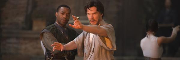 mordo (Chiwetel Ejiofor) et Strange (benedict Cumberbatch)
