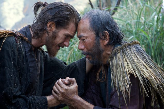 Father Rodrigues (Andrew Garfield) et Mokichi (Shinya Tsukamoto)